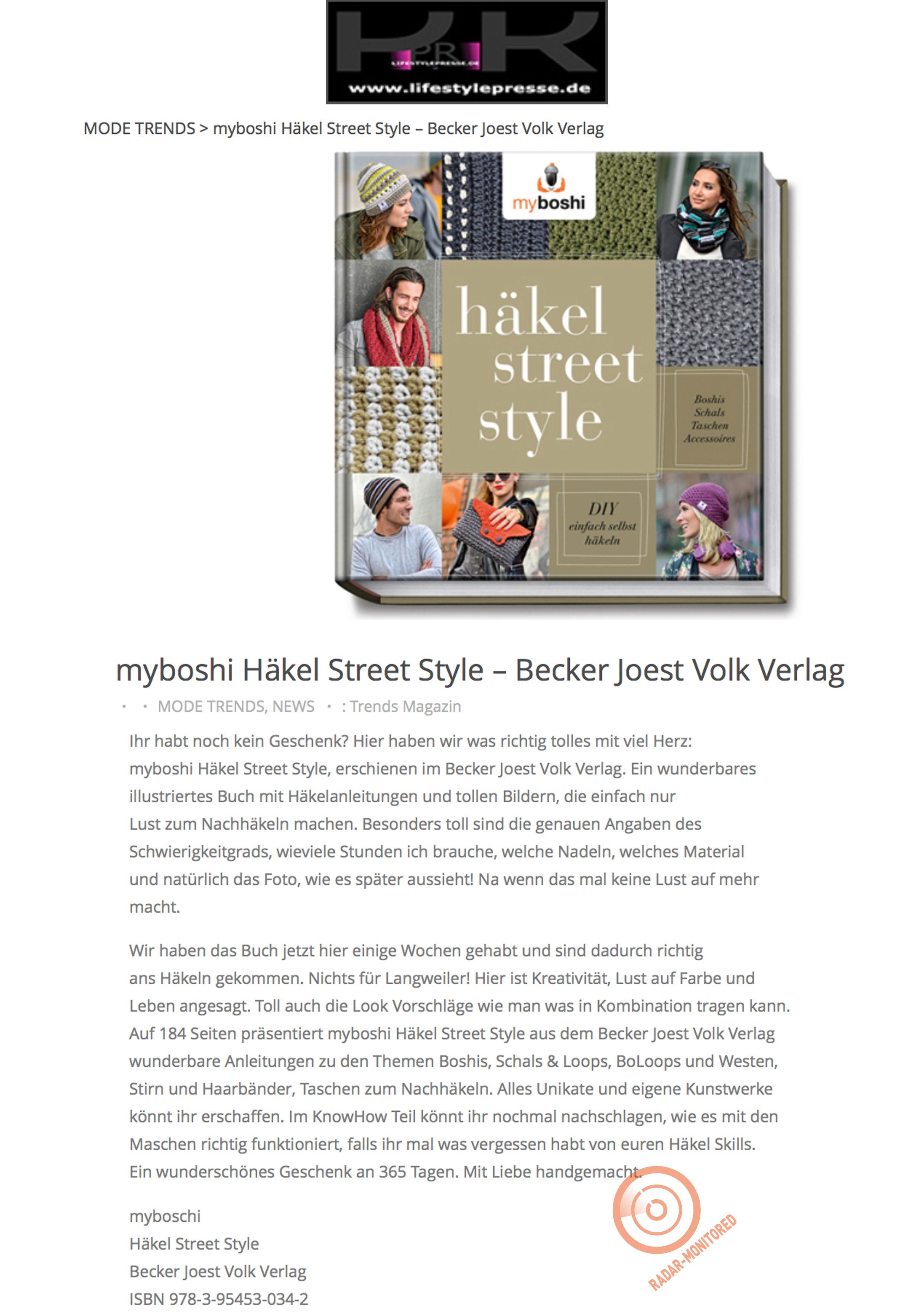 Myboshi Häkel Street Style